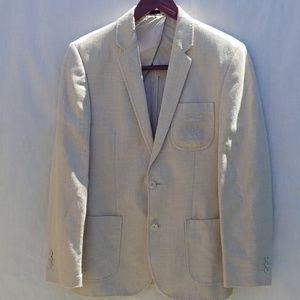 Men's sz 38 Polo Blazer Linen blend sport coat